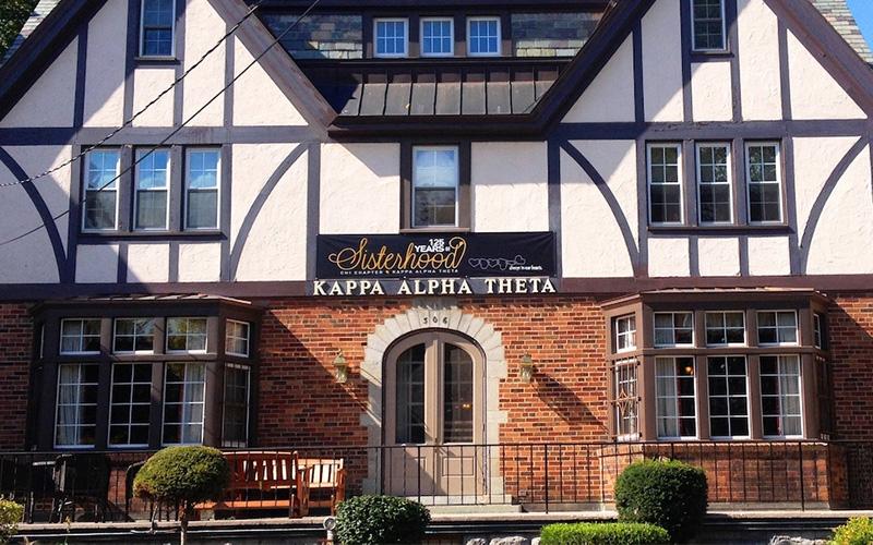Kappa Alpha Theta Building Exterior