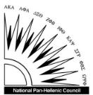 National Pan-Hellenic Council Logo