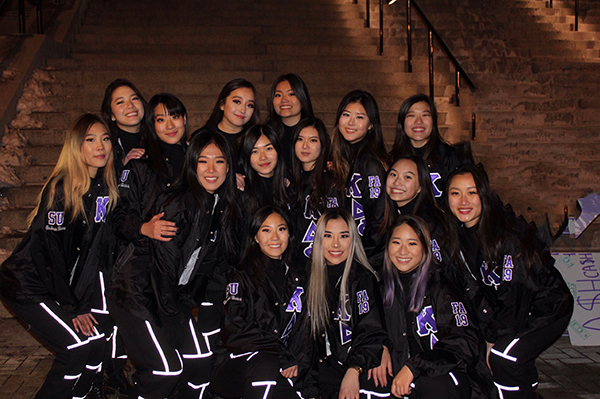 alpha Kappa Delta Phi International Sorority Group Photo