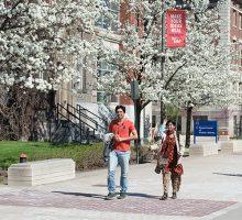 Students Walking International Diversity from Syracuse University