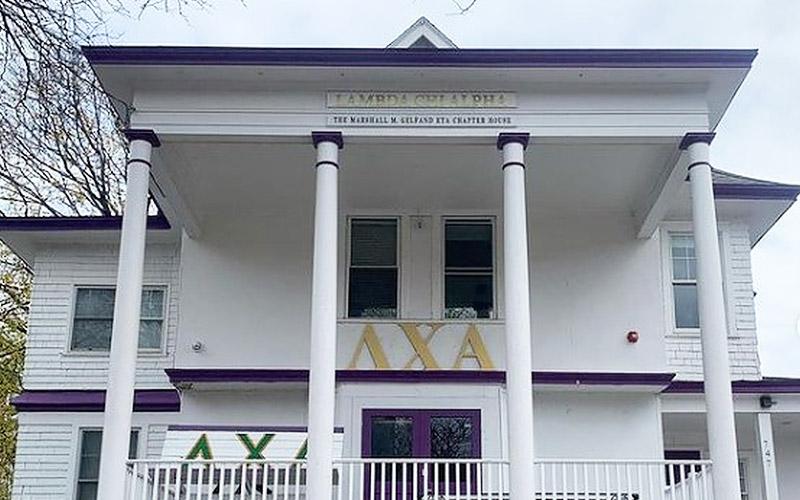 Lambda Chi Alpha Building Exterior