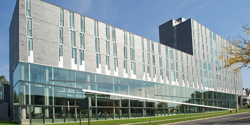 Ernie Davis Hall from Syracuse University