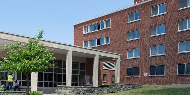 Flint Hall from Syracuse University