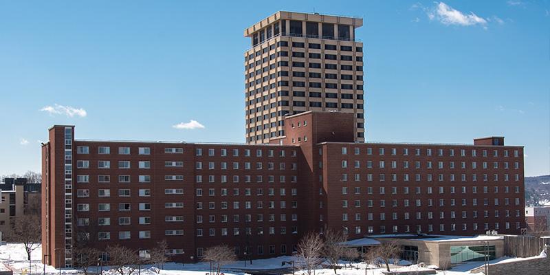Lawrinson Hall from Syracuse University